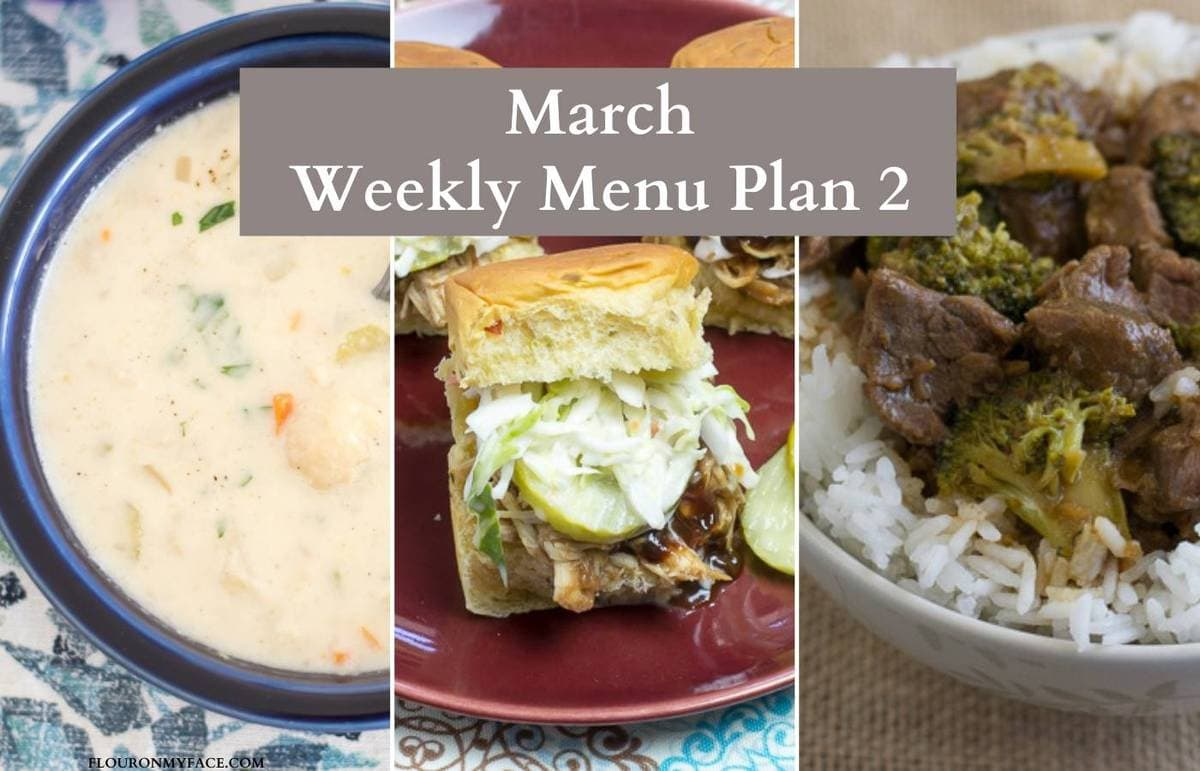 Preview image of three menu plan recipes.