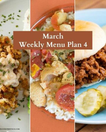 Weekly Meal Plan recipe preview image.