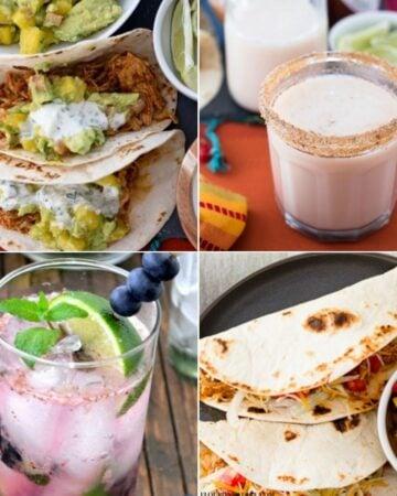 Preview of Cinco de Mayo recipes.
